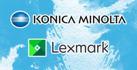 Lexmark and Konica Minolta